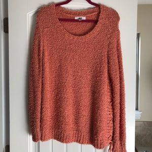 Jack by BB Dakota rust oversized sweater